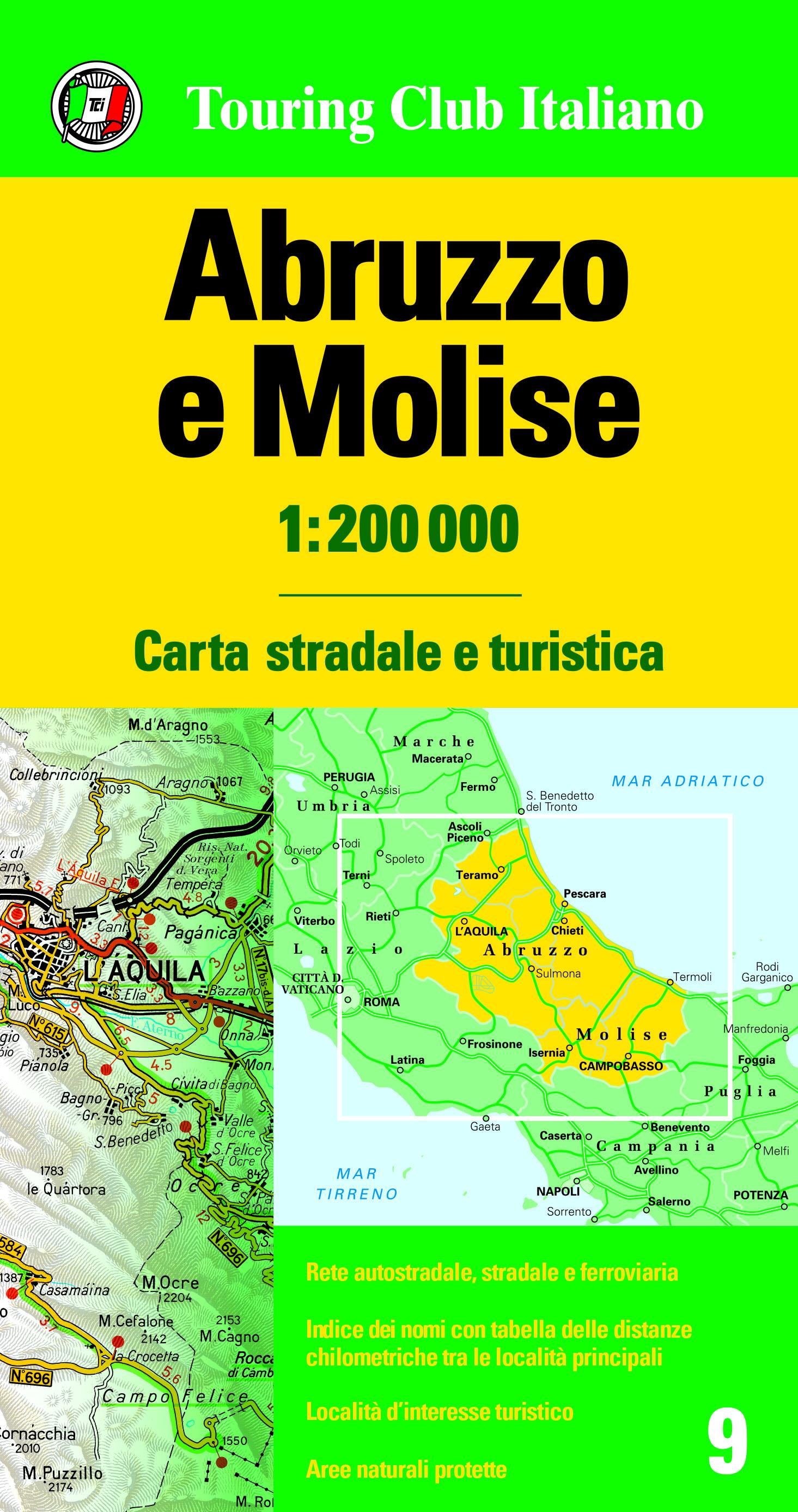 Abruzzo Molise 1:200 000
