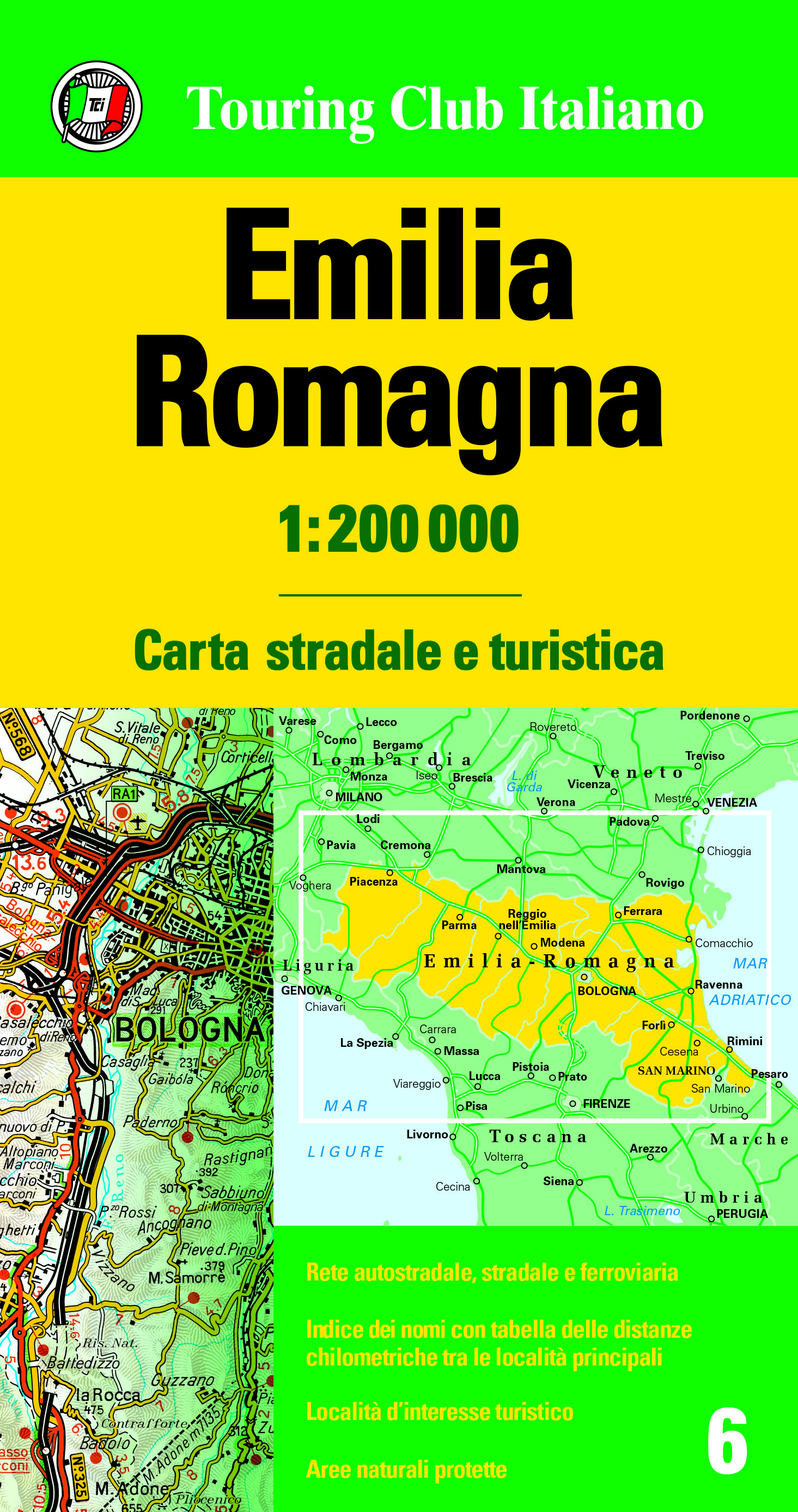 Emilia Romagna 1:200 000