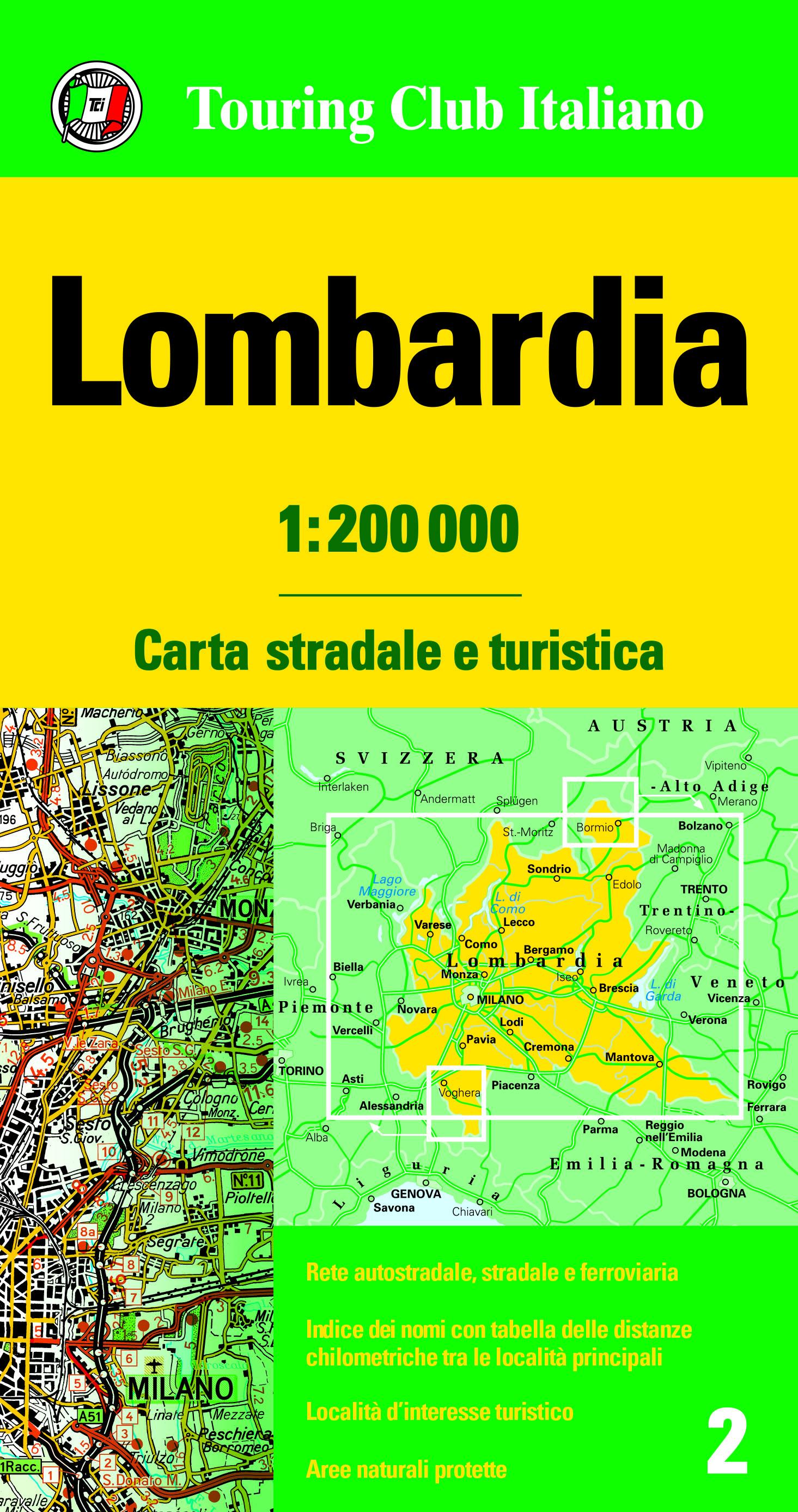 Lombardia 1:200 000