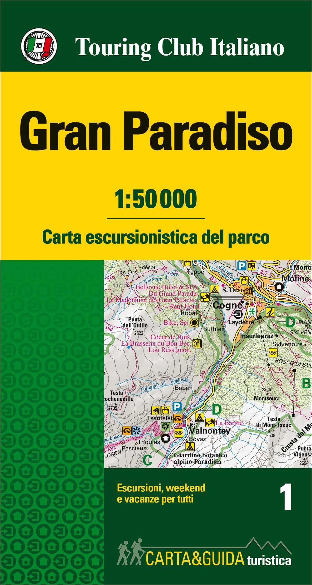 Gran Paradiso 1:50.000
