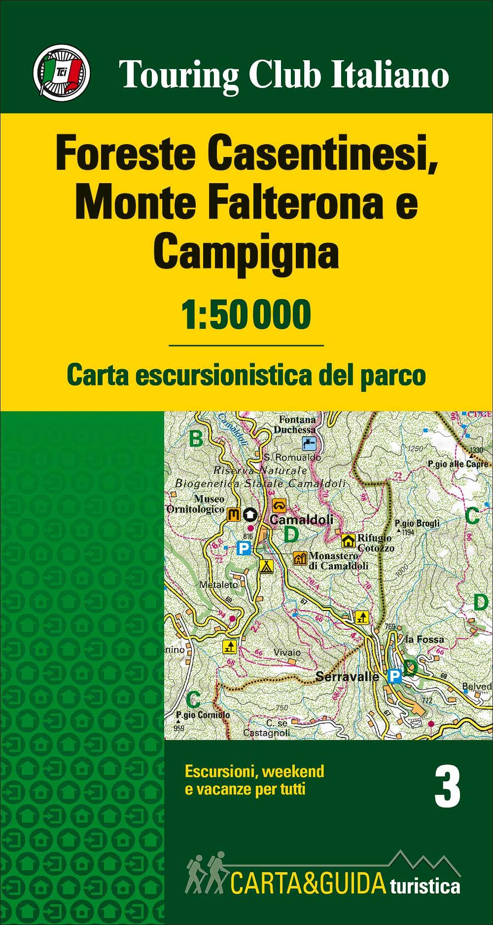 Foreste Casentinesi 1:50 000
